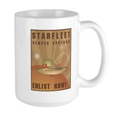 Enlist Now Mug