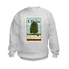 Travel Ohio Kids Sweatshirt
