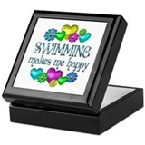 Swimming Happiness Keepsake Box
