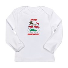 Unique 2011 christmas Long Sleeve Infant T-Shirt