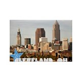 Unique Cleveland Rectangle Magnet (10 pack)