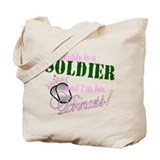 Soldier's Princess Tote Bag