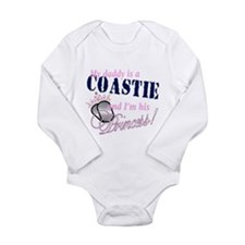 Coastie's Princess Long Sleeve Infant Bodysuit