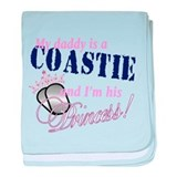 Coastie's Princess baby blanket