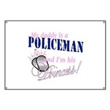 Policeman's Princess Banner