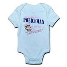 Policeman's Princess Infant Bodysuit