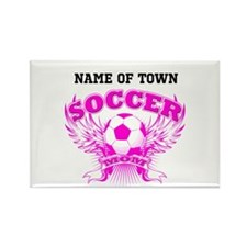 Cute Soccer moms Rectangle Magnet