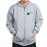 Babywearing Dad Zipped Hoody