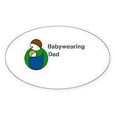 Babywearing Dad Decal