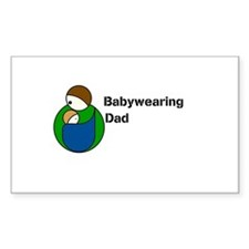 Babywearing Dad Decal