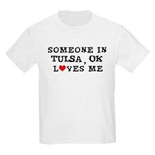Someone in Tulsa Kids T-Shirt