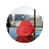 "Rose in Vegas 3.5"" Button (100 pack)"