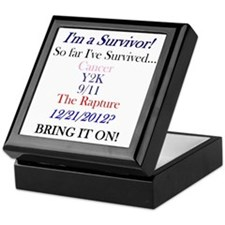 Cute 2012 survivor mayan Keepsake Box