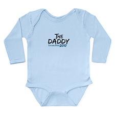 The Daddy Est 2010 Long Sleeve Infant Bodysuit
