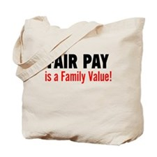 Fair Pay: Tote Bag