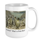 Polar Bear-Penguins Ceramic Mugs