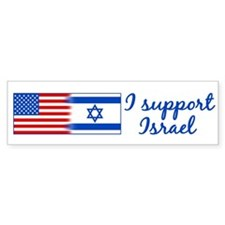 Support Israel Car Sticker