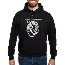 Tigers love pepper Hoodie