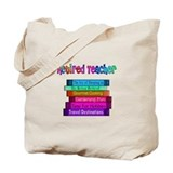 Retired english teacher Canvas Bags