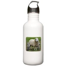 Sheep and Lambs 9R12D-35 Water Bottle