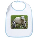 Sheep and Lambs 9R12D-35 Bib