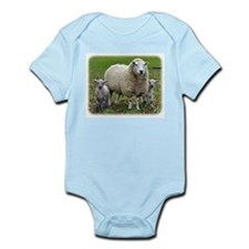 Sheep and Lambs 9R12D-35 Onesie