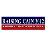 Herman Cain Bumper Sticker