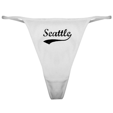 Vintage Seattle Classic Thong