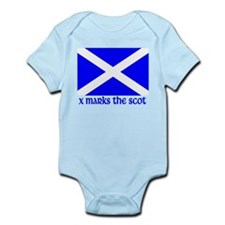 X Marks the Scot Infant Bodysuit