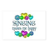 Singing Happiness Postcards (Package of 8)