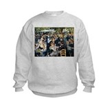 Renoir's Dance at Le moulin d Sweatshirt