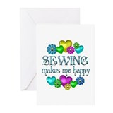Sewing Happiness Greeting Cards (Pk of 10)