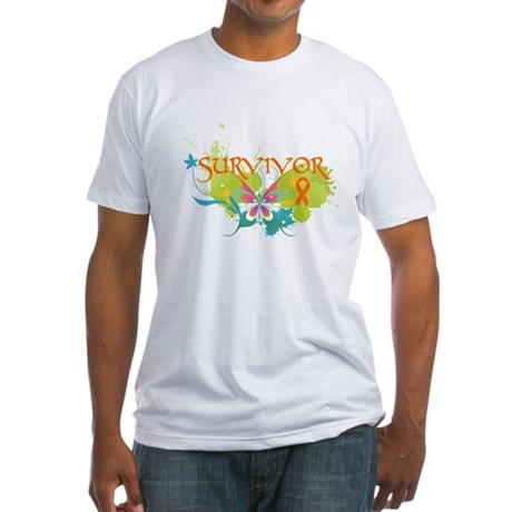 Survivor Multiple Sclerosis Fitted T-Shirt