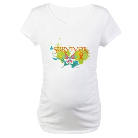 Survivor Multiple Sclerosis Maternity T-Shirt