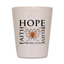 Hope Faith Multiple Sclerosis Shot Glass