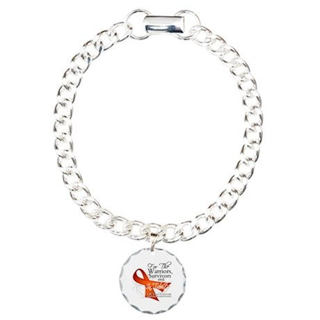 Tribute Multiple Sclerosis Charm Bracelet, One Cha