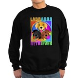 Labrador Retriever Graphic  Sweatshirt