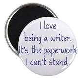 "Being a Writer 2.25"" Magnet (10 pack)"