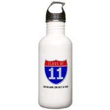 Class of 11 Road Sign Water Bottle