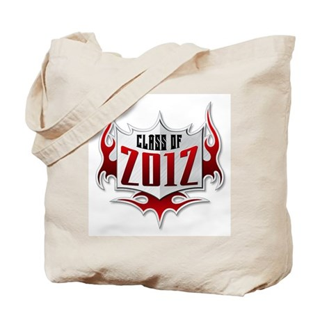 Class of 2012 Flames Tote Bag