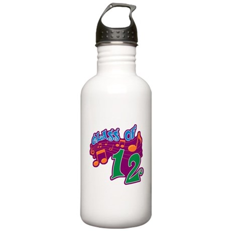 Class of 12 Musical Stainless Water Bottle 1.0L