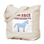 Your Face Tote Bag
