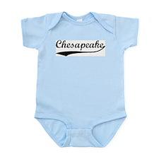 Vintage Chesapeake Infant Creeper