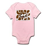 Funky Sun! In Chocolate Infant Bodysuit