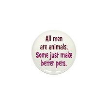 Men as Pets Mini Button (100 pack)
