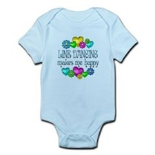 Line Dancing Infant Bodysuit