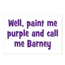Call me Barney Postcards (Package of 8)