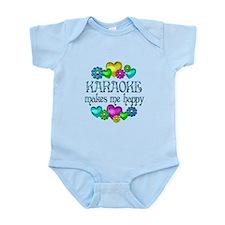 Karaoke Happiness Infant Bodysuit