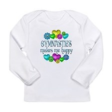 Gymnastics Happiness Long Sleeve Infant T-Shirt