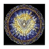 Holy Spirit Tile Coaster